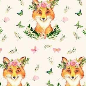 "4"" WOODLAND FOX / IVORY"
