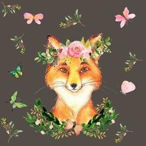 "6"" WOODLAND FOX / BROWN"