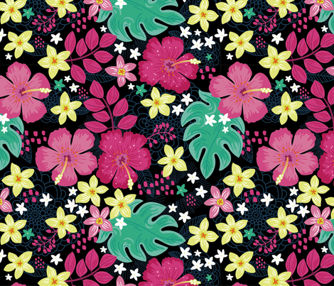 Jungle Jive fabric by cynthiafrenette on Spoonflower - custom fabric