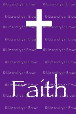 Faith // Purple