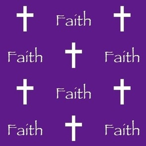 Faith // Purple