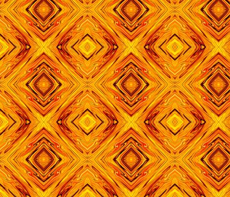LS - Liquid Sun, Diamonds on Point, small fabric by maryyx on Spoonflower - custom fabric