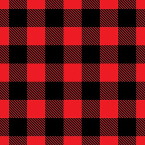 Buffalo Plaid// Red