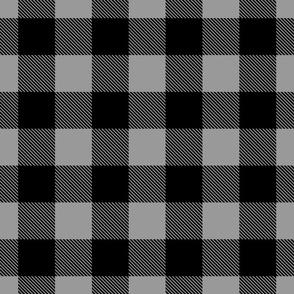 Buffalo Plaid // Grey