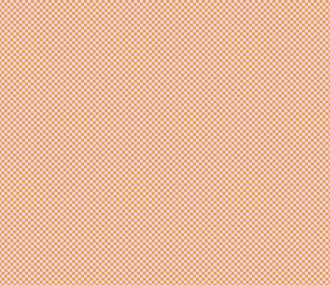 Tight Polka Pink Mustard fabric by acdesign on Spoonflower - custom fabric