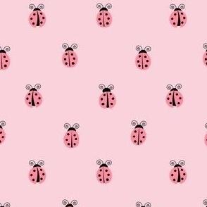 ladybug || pink on pink
