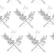 Custom Ivy Design - BoHo Arrows