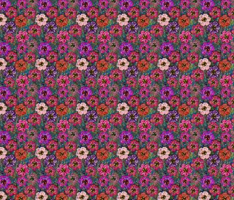Crochet Garden (small print) fabric by nezumiworld on Spoonflower - custom fabric