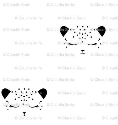 Cheetah Black & White