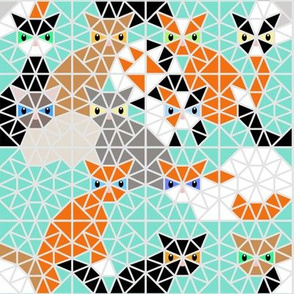 Kaleidoscope Calico Cats