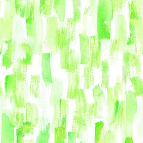 painting green