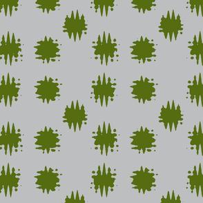 Gray and Green Blotch