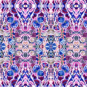 Trippy Abstract Garden