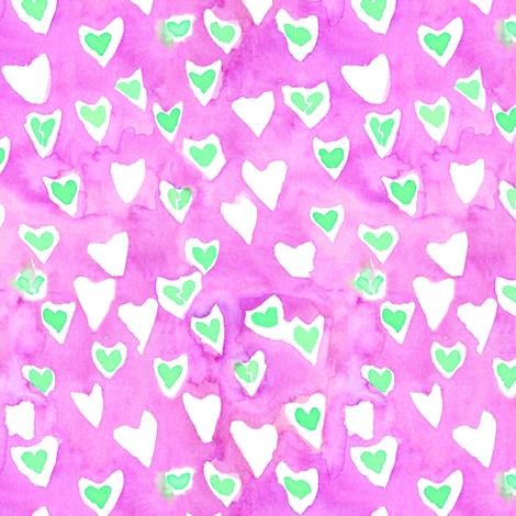 broken hearts fabric by erinanne on Spoonflower - custom fabric
