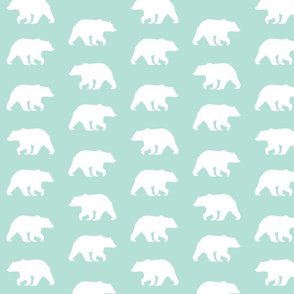 Bear Hike // mint