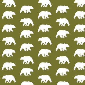 Bear Hike // moss