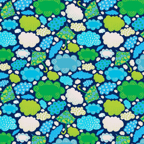 8by8_umbrellas_greens_spoonflower