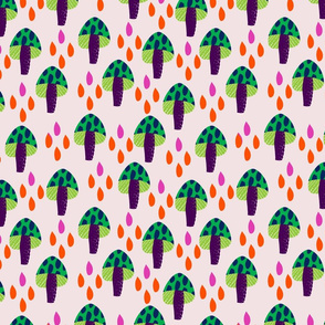 8by8_spoonflower_pinkmushrooms