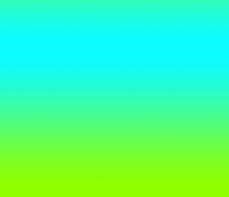 Turquoise/Bright Green Ombre fabric by seki on Spoonflower - custom fabric
