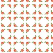 Orange Watercolor Flower deer_coordinate_4