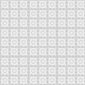 Gray Squares Pattern Spring_birds_coordinate_gray_and_white