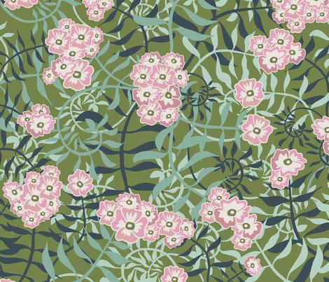 De_Vines_Sherwood fabric by kathyjuriss on Spoonflower - custom fabric