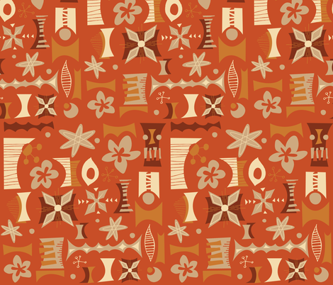 Mayon fabric by theaov on Spoonflower - custom fabric
