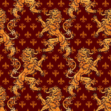 Rgold_lions_gold_fleurs_on_red_block_shop_preview