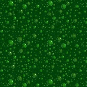 Bubbles - green