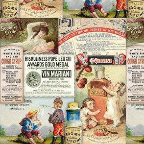 Vintage Drug, Medicine, Pharmacy Ads