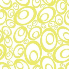 Funky Ovals - buttercream