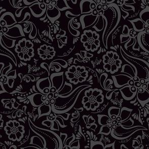 Henna Floral 2 tones