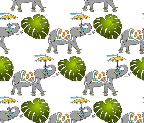 Rrelephant_and_leaves_png_shop_preview