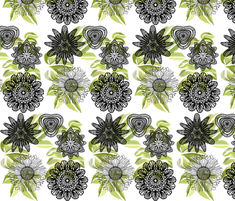 Passion field fabric by gabmana on Spoonflower - custom fabric