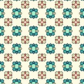 Quilting Time- Retro Colors / Mini