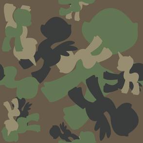 MLP Woodland Camo Pattern