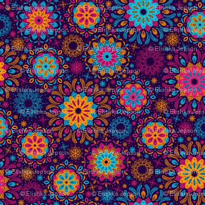 Zen Garden (Purple)