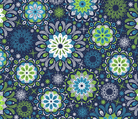 Zen Garden fabric by robyriker on Spoonflower - custom fabric