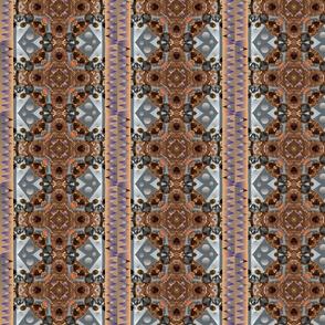 Tribal  Mandala Blanket