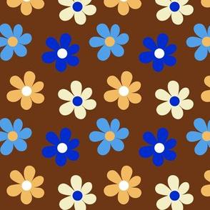 Mandala Daisies Chocolate