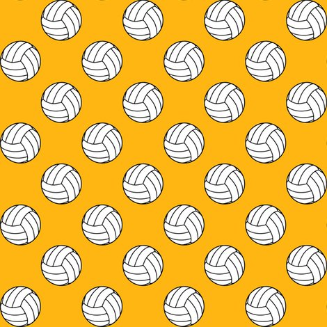 Rblack_white_yellow_gold_volleyball_shop_preview