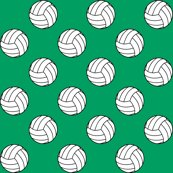 Rblack_white_shamrock_green_volleyball_shop_thumb