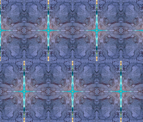 Night of Dawning Hope fabric by mosart on Spoonflower - custom fabric