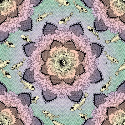 Zen Pond Mandala