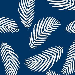 palm print fabric