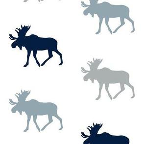 multi moose (navy, rustic woods blue, grey)