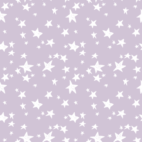 star fabric // lavender purple stars fabric pastel purple star fabric fabric by andrea_lauren on Spoonflower - custom fabric