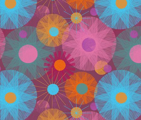 Chromandalas fabric by mariaspeyer on Spoonflower - custom fabric