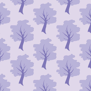 Sweet Trees - Lavender/lilac purple Forest