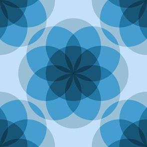 Blue ghost mandalas by Su_G